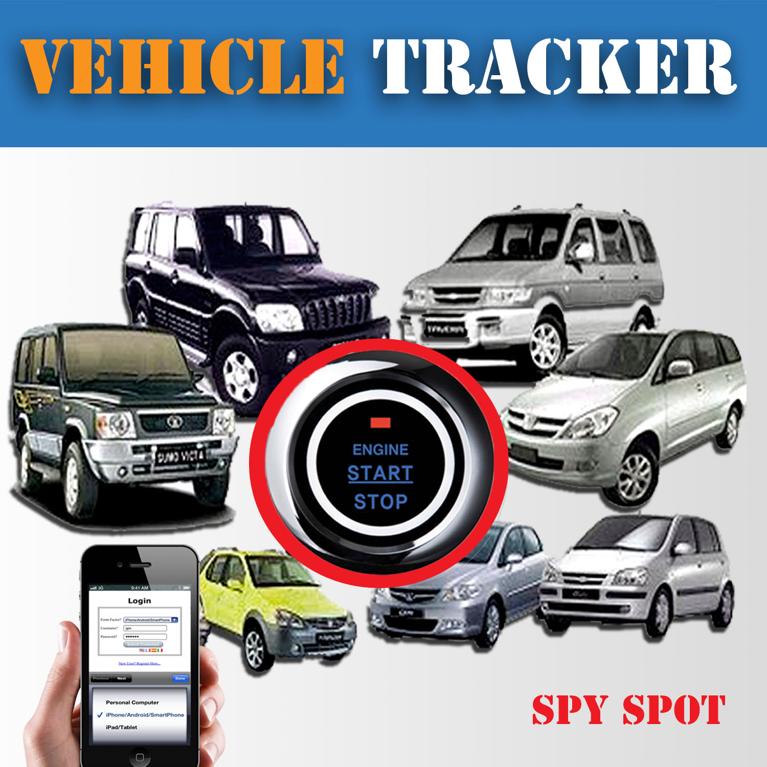 wired in gps vehicle tracker with kill switch spy spot. Black Bedroom Furniture Sets. Home Design Ideas